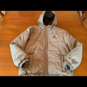 Air Jordan puffer coat, size 10/12